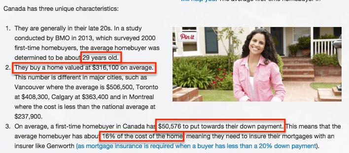 real estate agent's target market stats