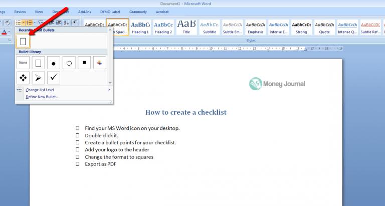 msword-checklist